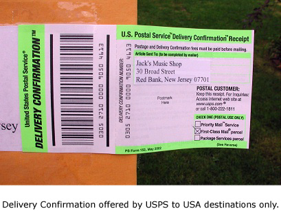 USPS - Mail Tracking  Reporting