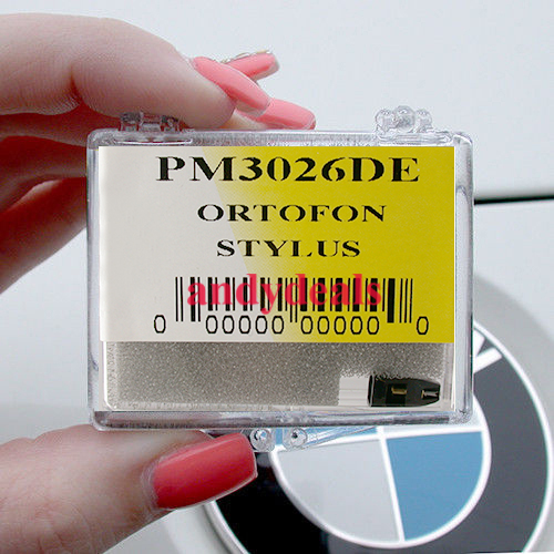 EVG PM3026DE NEEDLE STYLUS FITS DUAL /& ORTOFON OM LM STY-3 STY-5E STY-7 14